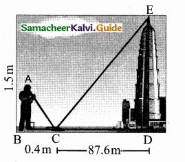 Samacheer Kalvi 10th Maths Guide Chapter 4 Geometry Additional Questions 28
