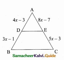 Samacheer Kalvi 10th Maths Guide Chapter 4 Geometry Additional Questions 30