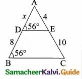 Samacheer Kalvi 10th Maths Guide Chapter 4 Geometry Additional Questions 4