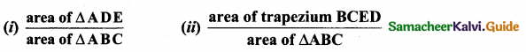 Samacheer Kalvi 10th Maths Guide Chapter 4 Geometry Additional Questions 44