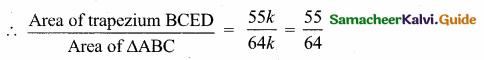 Samacheer Kalvi 10th Maths Guide Chapter 4 Geometry Additional Questions 47