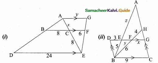 Samacheer Kalvi 10th Maths Guide Chapter 4 Geometry Additional Questions 49