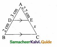 Samacheer Kalvi 10th Maths Guide Chapter 4 Geometry Additional Questions 56