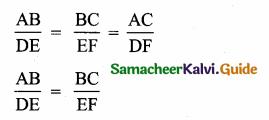 Samacheer Kalvi 10th Maths Guide Chapter 4 Geometry Additional Questions 6