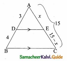 Samacheer Kalvi 10th Maths Guide Chapter 4 Geometry Ex 4.2 1