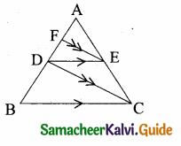 Samacheer Kalvi 10th Maths Guide Chapter 4 Geometry Ex 4.2 12
