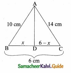 Samacheer Kalvi 10th Maths Guide Chapter 4 Geometry Ex 4.2 13