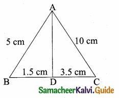 Samacheer Kalvi 10th Maths Guide Chapter 4 Geometry Ex 4.2 14