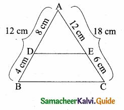 Samacheer Kalvi 10th Maths Guide Chapter 4 Geometry Ex 4.2 5