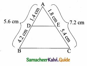 Samacheer Kalvi 10th Maths Guide Chapter 4 Geometry Ex 4.2 6