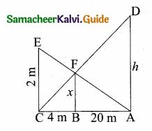 Samacheer Kalvi 10th Maths Guide Chapter 4 Geometry Unit Exercise 4 10