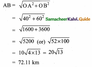 Samacheer Kalvi 10th Maths Guide Chapter 4 Geometry Unit Exercise 4 7