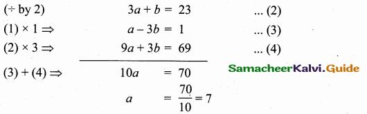 Samacheer Kalvi 10th Maths Guide Chapter 5 Coordinate Geometry Additional Questions 19