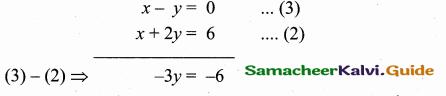 Samacheer Kalvi 10th Maths Guide Chapter 5 Coordinate Geometry Additional Questions 24