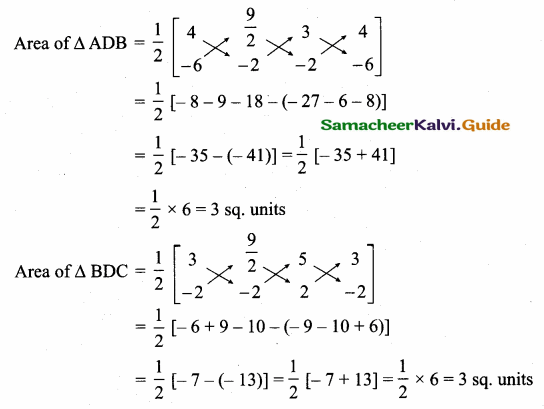 Samacheer Kalvi 10th Maths Guide Chapter 5 Coordinate Geometry Additional Questions 27