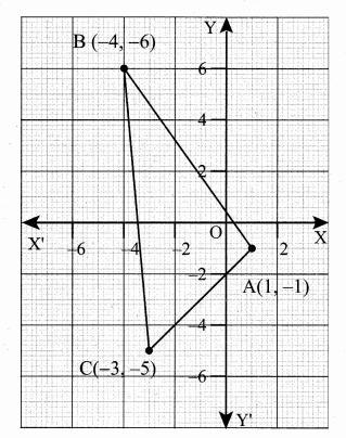 Samacheer Kalvi 10th Maths Guide Chapter 5 Coordinate Geometry Ex 5.1 1