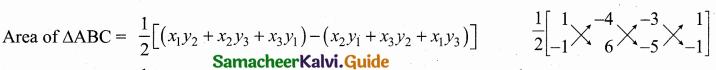 Samacheer Kalvi 10th Maths Guide Chapter 5 Coordinate Geometry Ex 5.1 2