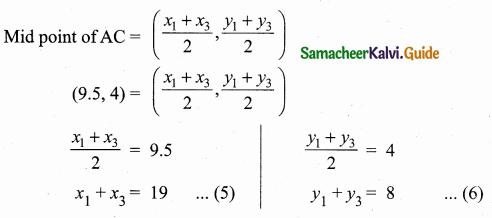 Samacheer Kalvi 10th Maths Guide Chapter 5 Coordinate Geometry Ex 5.1 23