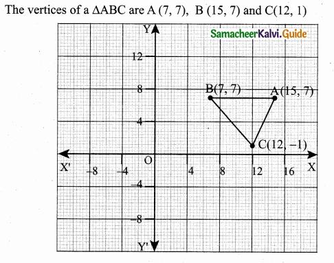Samacheer Kalvi 10th Maths Guide Chapter 5 Coordinate Geometry Ex 5.1 26
