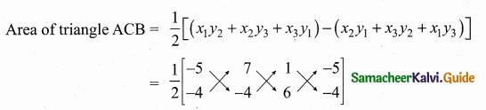 Samacheer Kalvi 10th Maths Guide Chapter 5 Coordinate Geometry Ex 5.1 38