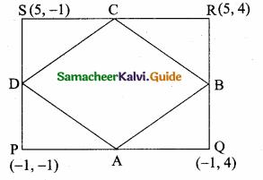 Samacheer Kalvi 10th Maths Guide Chapter 5 Coordinate Geometry Unit Exercise 5 1