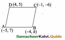 Samacheer Kalvi 10th Maths Guide Chapter 5 Coordinate Geometry Unit Exercise 5 11