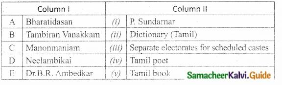 Samacheer Kalvi 10th Social Science Guide History Chapter 10 Social Transformation in Tamil Nadu 9