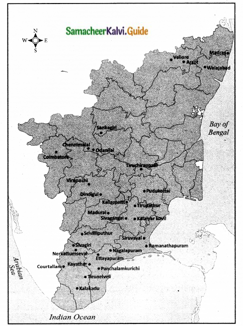 Samacheer Kalvi 10th Social Science Guide History Chapter 6 Early Revolts against British Rule in Tamil Nadu 4