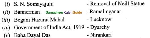 Samacheer Kalvi 10th Social Science Model Question Paper 3 English Medium - 2