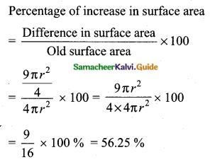 Samacheer Kalvi 10th Maths Guide Chapter 7 Mensuration Ex 7.1 Q8.2