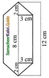 Samacheer Kalvi 10th Maths Guide Chapter 7 Mensuration Ex 7.3 Q2