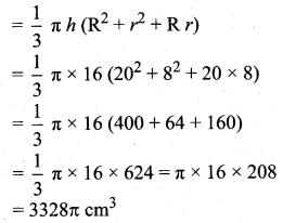 Samacheer Kalvi 10th Maths Guide Chapter 7 Mensuration Ex 7.5 Q10