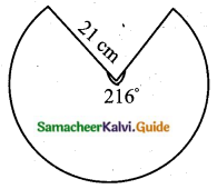 Samacheer Kalvi 10th Maths Guide Chapter 7 Mensuration Unit Exercise 7 Q10