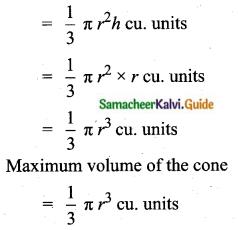 Samacheer Kalvi 10th Maths Guide Chapter 7 Mensuration Unit Exercise 7 Q3.1
