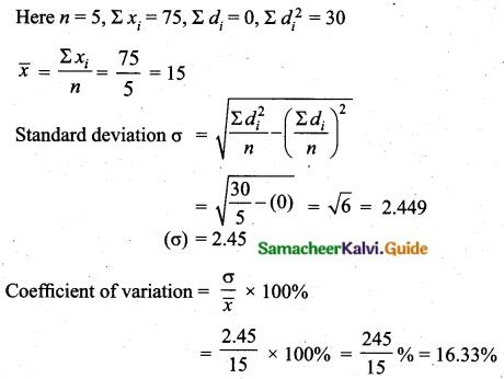 Samacheer Kalvi 10th Maths Guide Chapter 8 Statistics and Probability Ex 8.2 Q9.4