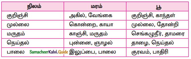 Samacheer Kalvi 10th Tamil Guide Chapter 6.6 அகப்பொருள் இலக்கணம் - 10