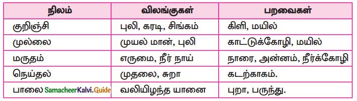 Samacheer Kalvi 10th Tamil Guide Chapter 6.6 அகப்பொருள் இலக்கணம் - 12