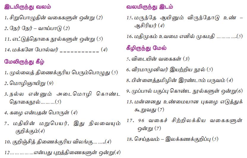 Samacheer Kalvi 10th Tamil Guide Chapter 9.5 அணிகள் - 11