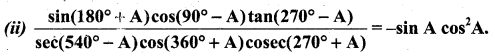Samacheer Kalvi 11th Business Maths Guide Chapter 4 Trigonometry Ex 4.1 Q9.1