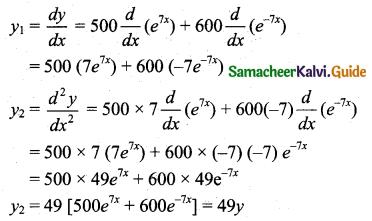 Samacheer Kalvi 11th Business Maths Guide Chapter 5 Differential Calculus Ex 5.9 Q2