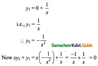 Samacheer Kalvi 11th Business Maths Guide Chapter 5 Differential Calculus Ex 5.9 Q3
