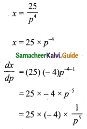 Samacheer Kalvi 11th Business Maths Guide Chapter 6 Applications of Differentiation Ex 6.1 Q11