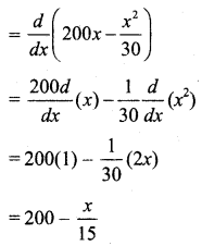 Samacheer Kalvi 11th Business Maths Guide Chapter 6 Applications of Differentiation Ex 6.1 Q17