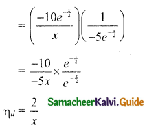 Samacheer Kalvi 11th Business Maths Guide Chapter 6 Applications of Differentiation Ex 6.1 Q4.1
