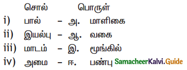 Samacheer Kalvi 11th Tamil Guide Chapter 1.3 நன்னூல் பாயிரம் - 2