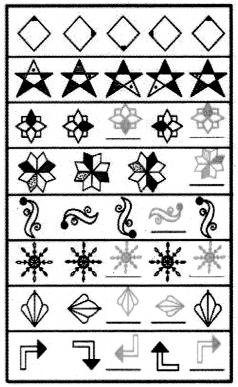 Samacheer Kalvi 5th Maths Guide Term 1 Chapter 3 Patterns Ex 3.1 2