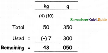 Samacheer Kalvi 5th Maths Guide Term 2 Chapter 4 Measurements Ex 4.1 18