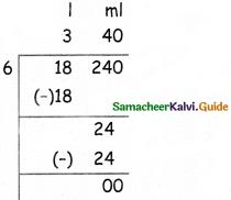 Samacheer Kalvi 5th Maths Guide Term 2 Chapter 4 Measurements Ex 4.2 11