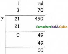 Samacheer Kalvi 5th Maths Guide Term 2 Chapter 4 Measurements Ex 4.2 13
