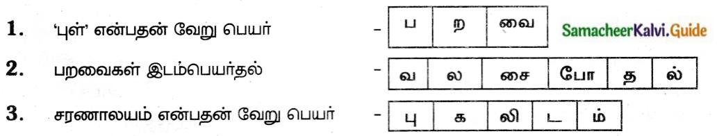Samacheer Kalvi 6th Tamil Guide Chapter 2.6 திருக்குறள் 1